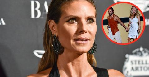 Flachgelegt - und nicht von Tom: Heidi Klum zeigt sich von ihrer wilden Seite
