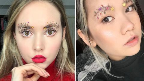Christmas Tree Eyebrows: Wenn die Augenbrauen zum Weihnachtsbaum werden