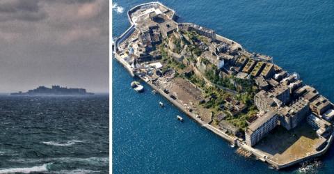 Die Insel sieht von weitem ganz normal aus, doch sie verbirgt ein dunkles Geheimnis