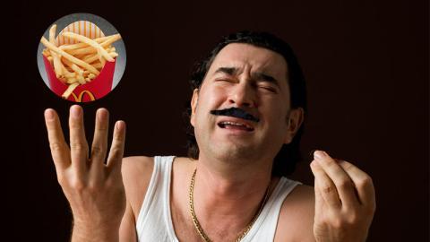 Die Italiener sind entsetzt über die neue Pommes-Sorte bei McDonald's