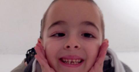 Eine Viertelsekunde ändert das Leben dieses Jungen für immer
