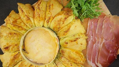 Rezept: Kartoffelpastete mit geschmolzenem Mont d'Or... Ein deftig leckeres Gericht für kalte Tage!