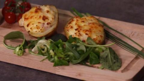 Leicht gemacht - Staffel 2 Folge 22: Gefüllte Ofenkartoffeln