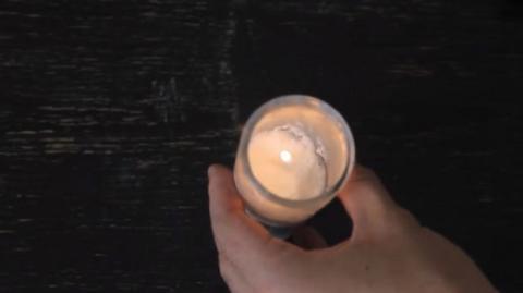 Wenn die Kerze in Eurem Windlicht nicht mehr angehen will... So bekommt Ihr sie wieder zum Brennen!