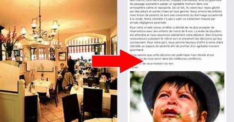 Ärger im Restaurant! Wie sie mit Kindern umgehen, empört die Gäste!