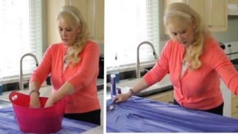 Wenn deine Kleider eingegangen sind, gibt es eine einfache Lösung, um sie zu reparieren!