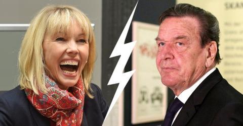 Gerhard Schröder entsetzt über Doris' Karnevalskostüm