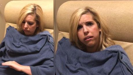 Unter Narkose redet sie Unfug und beschuldigt ihren Arzt einer bösen Tat