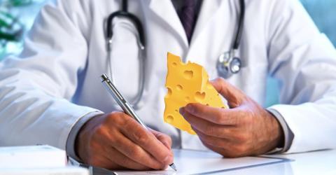 Kein Scherz! Ärzte werden dir bald Käse verschreiben