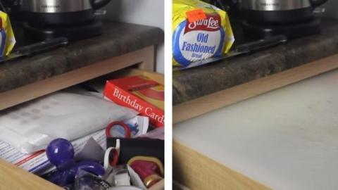 Deine Küche ist zu klein? Mit diesem Trick schaffst du mehr Platz!