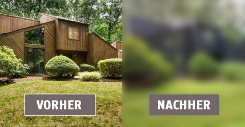 Eine amerikanische Designerin baut ihr Haus um und setzt dabei auf Farben und viel Holz