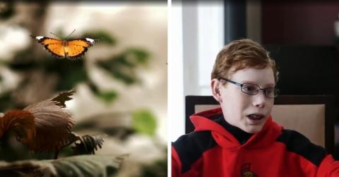 """""""Schmetterlingskind"""": Der schmerzhafte Kampf eines mutigen Jungen"""