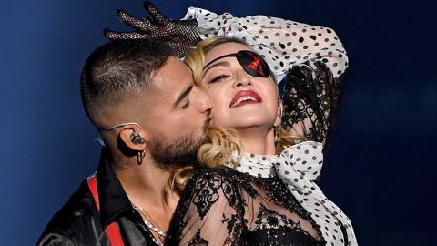 Madonna provoziert auf der Bühne mit neuem Toy Boy und sorgt mit diesem Detail für Erstaunen