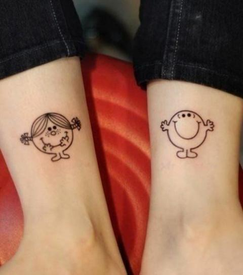 Mickey And Minnie Mouse Tattoo Partner Tattoos 5