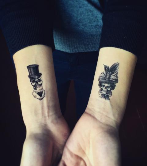 Partner Tattoo Die Schonsten Tattoo Motive Fur Paare 9