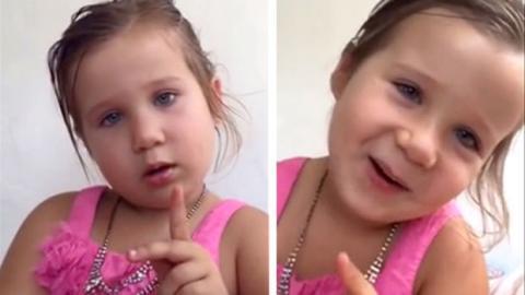 Dieses kleine Mädchen erklärt seinem Vater, warum sie keine Prinzessin ist