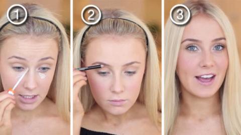 Dieses ultranatürliche Make Up ist perfekt für den Alltag. Und es geht ganz schnell!