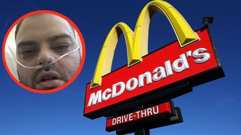 Lebensgefahr: Ein Eis von McDonald's hat fatale Folgen für diesen Mann