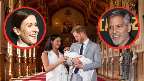 Das haben George Clooney, Wolke Hegenbarth und das Royal Baby gemeinsam