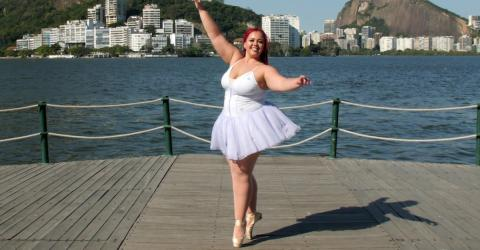 Plus-Size-Ballerina: Sie erfüllt sich ihren Traum und lässt das Mobbing hinter sich