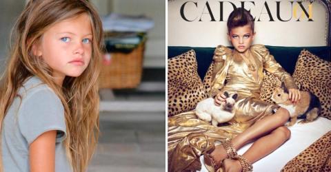 Thylane Blondeau: Sie galt schon als Kind als das schönste Mädchen der Welt... Was ist zehn Jahre später aus ihr geworden?