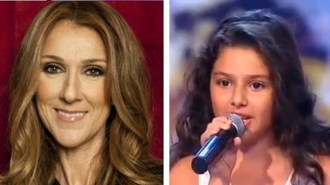 Dieses 9-jährige Mädchen singt wie Céline Dion. Sie wird dich begeistern