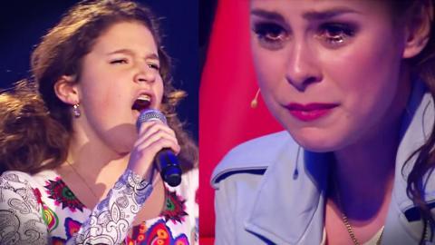 The Voice: Eine 13-Jährige rührt die Jury zu Tränen