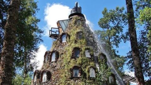 Abenteuer-Urlaub: Dieses Hotel liegt auf einem Vulkan
