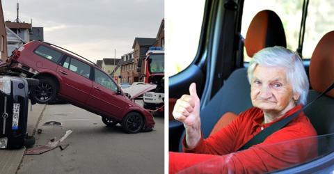 93-Jährige will ausparken und verursacht Unfall mit mehreren Autos