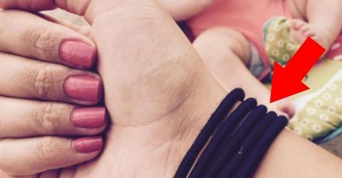 5 Gummis am Handgelenk: Der erstaunliche Trick einer Mutter, um immer die Ruhe zu bewahren