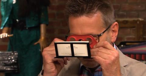 Bares für Rares: Aktfotos mit Brille sorgen für Staunen