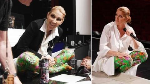 Céline Dion spaltet die Meinung ihrer Fans mit diesem Detail ihres Outfits!