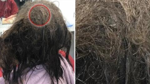 Diese junge Frau hat komplett verfilzte Haare! Nach 13 Stunden beim Friseur ist sie kaum wieder zu erkennen!