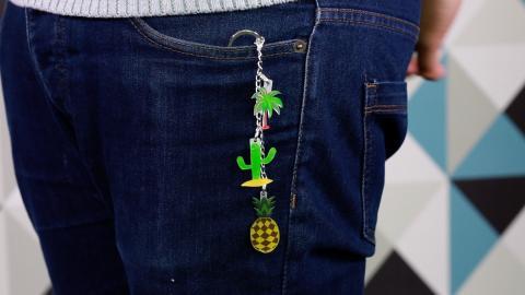 Zauber dir deine eigenen DIY-Schlüsselanhänger! Du brauchst dafür nur...