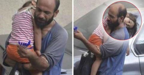 Bewegende Geschichte von einem Flüchtling und seiner Tochter
