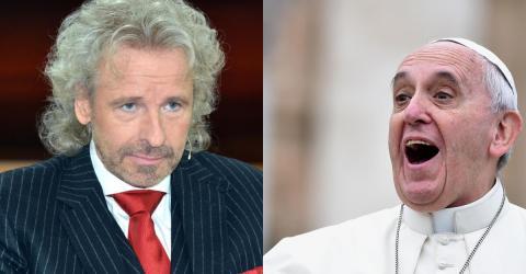 Gottschalk macht kein Geheimnis aus seiner Meinung zum Papst!