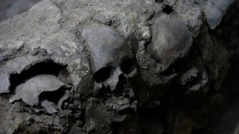 Mexiko: Archäologen machen einen grausigen Fund