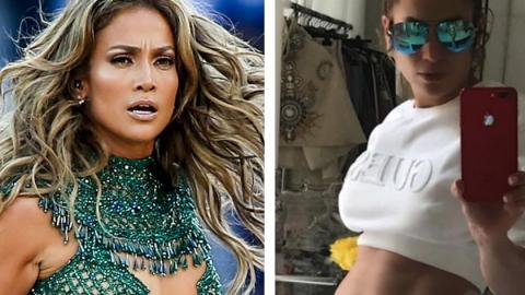 Jennifer Lopez: Queen of Photoshop? Sie postet ein Bild und wird zum Gespött im Netz