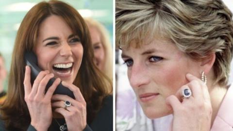 Kate Middleton lässt sich bei ihrer Liebe zu Prinz William von Lady Di inspirieren