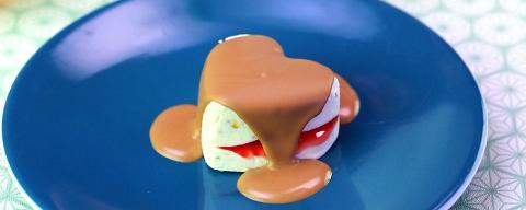 Rezept: Süße Herzen aus selbstgemachter Kinder-Schokoladen-Eiscreme