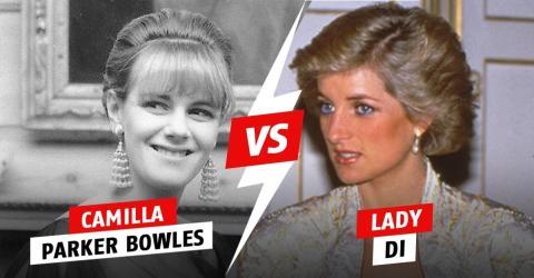 Das soll Lady Di gewagt haben zu tun, um sich an Camilla für ihren untreuen Ehemann zu rächen!