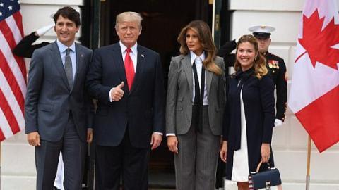 Melania Trump: Dieses Foto bringt ihr viel Spott und Häme ein