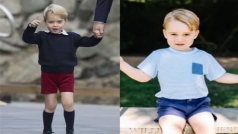 Der kleine Prinz George trägt immer kurze Hosen! Jetzt kommt heraus, warum das so ist!
