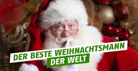 Weihnachtsmann erfüllt sterbendem Jungen den letzten Wunsch!