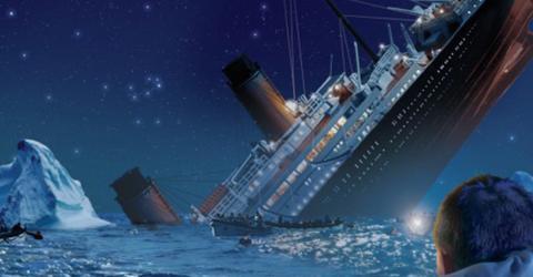 Titanic Untergang Ort