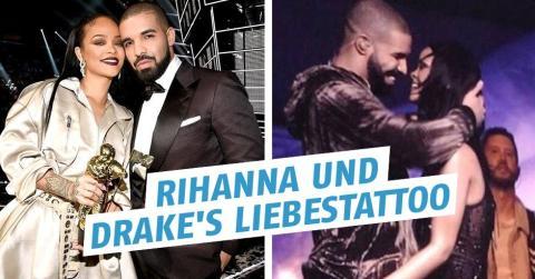 Rihanna und Drake: Liebesgeständnis auf der Haut