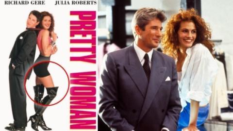 """8 Anekdoten zum Film """"Pretty Woman"""", von denen ihr bestimmt noch nichts wusstet! Seht ihr das Detail auf dem Filmplakat?"""