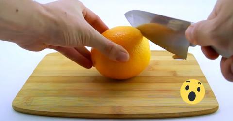 Orange schälen leicht gemacht