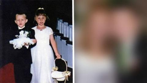 Einst standen sie als Brautpagen vor dem Altar... 14 Jahre später geben sie sich das Ja-Wort vor demselben Altar