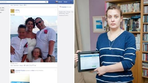 Eine Frau entdeckt auf Facebook, dass ihr Mann auch noch mit einer anderen Frau verheiratet ist